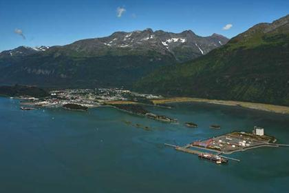 Valdez Container Terminal and Valdez Community