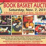 Flyer for Basket Auction