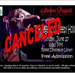 Cancel notice for Puppet Show